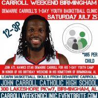 Carroll Weekend Basketball Clinic