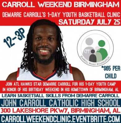 Carroll Weekend Basketball Clinic